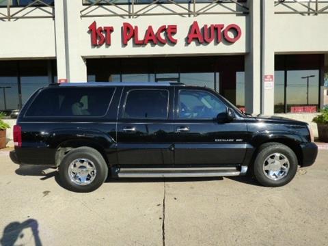 2003 Cadillac Escalade ESV for sale in Watauga, TX