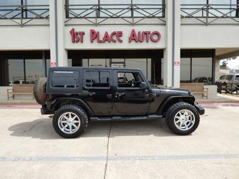 2014 Jeep Wrangler Unlimited for sale in Watauga, TX