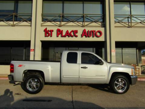 2012 Chevrolet Silverado 1500 LT for sale at First Place Auto Ctr Inc in Watauga TX