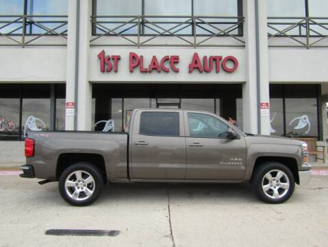 2014 Chevrolet Silverado 1500 for sale at First Place Auto Ctr Inc in Watauga TX