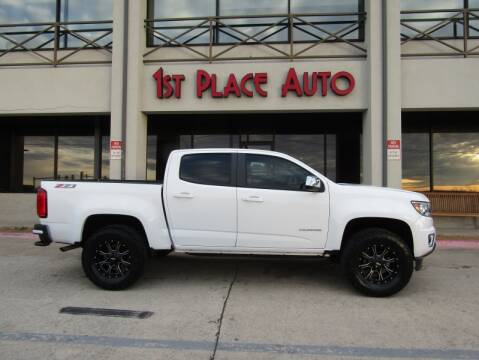 2015 Chevrolet Colorado Z71 for sale at First Place Auto Ctr Inc in Watauga TX