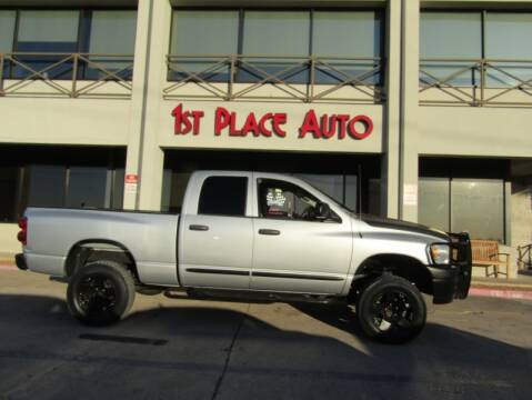 2008 Dodge Ram Pickup 1500 for sale at First Place Auto Ctr Inc in Watauga TX