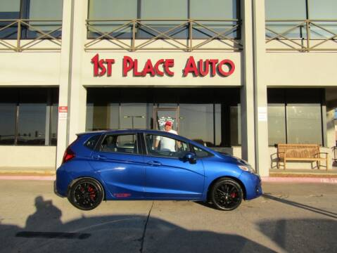 2015 Honda Fit EX for sale at First Place Auto Ctr Inc in Watauga TX