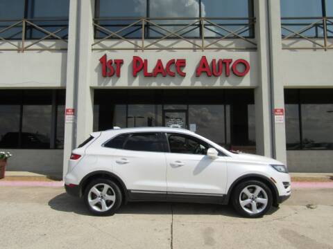 2015 Lincoln MKC for sale at First Place Auto Ctr Inc in Watauga TX