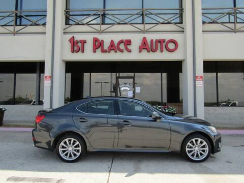 2007 Lexus IS 250 for sale at First Place Auto Ctr Inc in Watauga TX