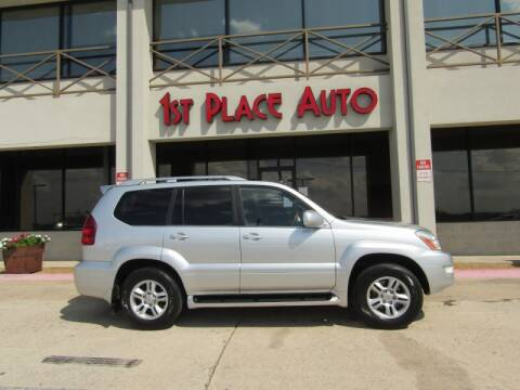 2007 Lexus GX 470 for sale at First Place Auto Ctr Inc in Watauga TX