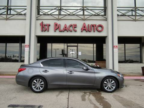 2014 Infiniti Q50 for sale at First Place Auto Ctr Inc in Watauga TX