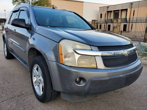 2005 Chevrolet Equinox LT for sale at ZNM Motors in Dallas TX