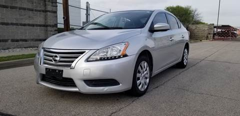 2015 Nissan Sentra SV for sale at ZNM Motors in Dallas TX