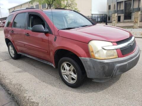 2005 Chevrolet Equinox LS for sale at ZNM Motors in Dallas TX