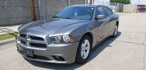 2012 Dodge Charger SE for sale at ZNM Motors in Dallas TX