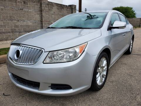 2012 Buick LaCrosse Leather for sale at ZNM Motors in Dallas TX