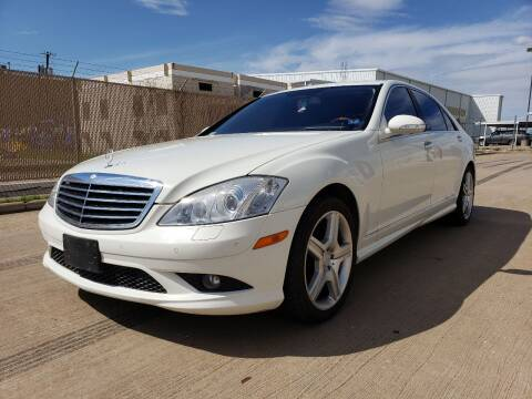 2008 Mercedes-Benz S-Class S 550 for sale at ZNM Motors in Dallas TX