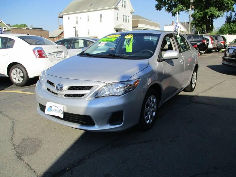 2011 Toyota Corolla For Sale At Malden Auto Sales In Malden MA