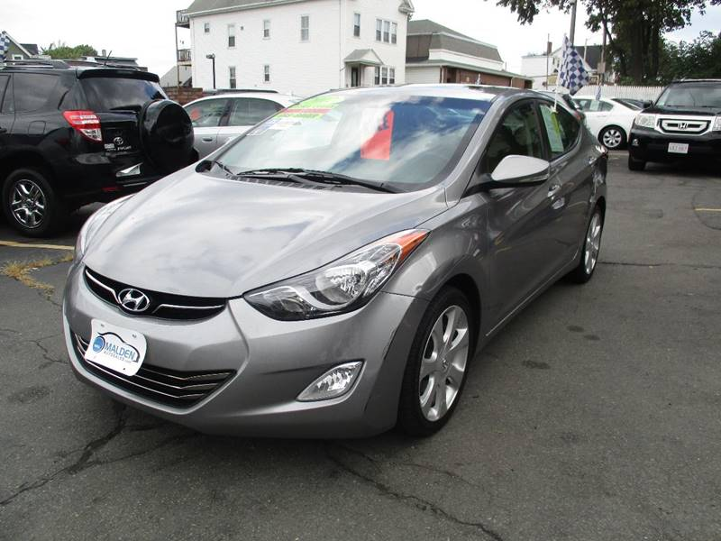 2012 hyundai elantra limited in malden ma malden auto sales. Black Bedroom Furniture Sets. Home Design Ideas