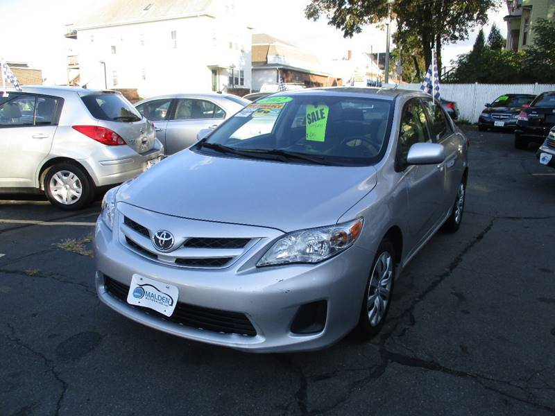 2012 Toyota Corolla For Sale At Malden Auto Sales In Malden MA