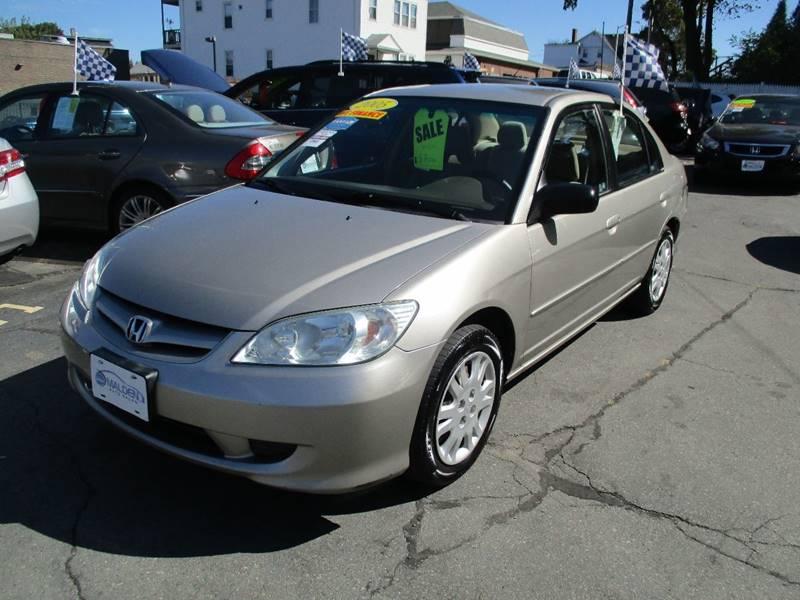 Captivating 2005 Honda Civic For Sale At Malden Auto Sales In Malden MA