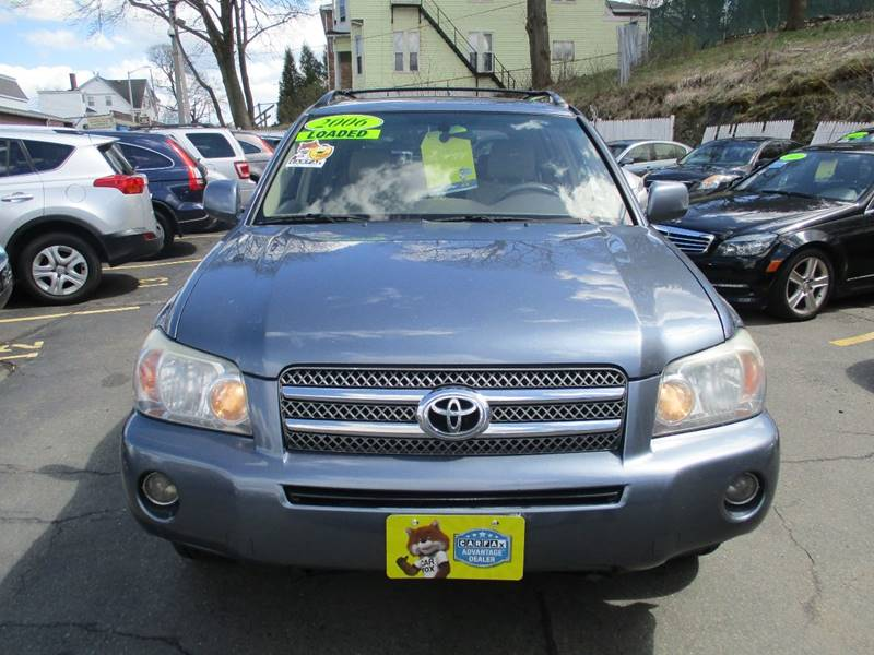 2006 Toyota Highlander Hybrid For Sale At Malden Auto Sales In Malden MA