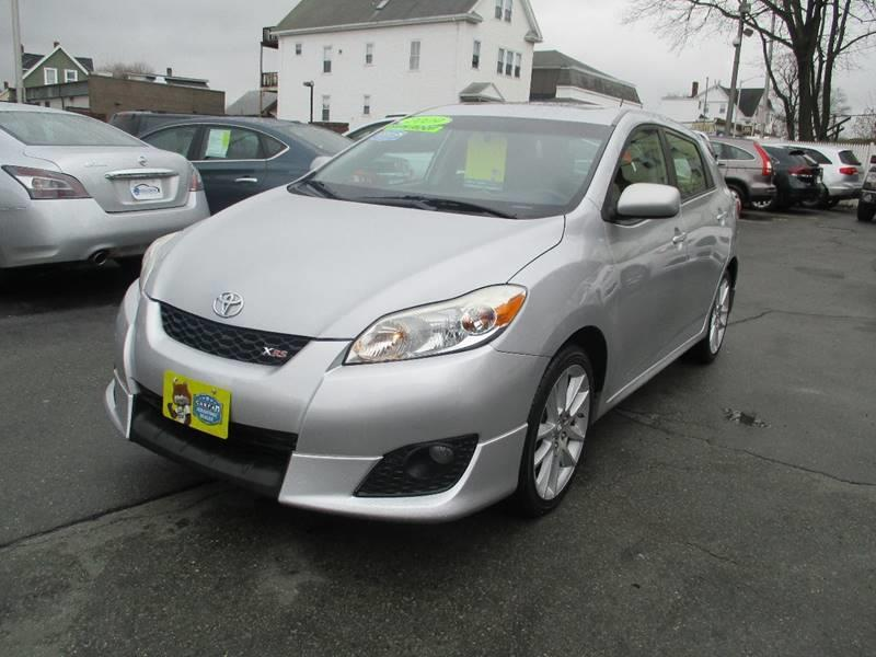2009 Toyota Matrix For Sale At Malden Auto Sales In Malden MA