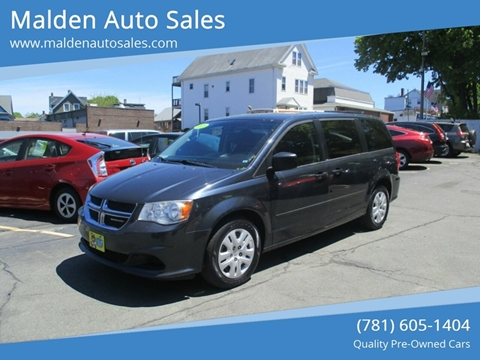 2013 Dodge Grand Caravan for sale in Malden, MA