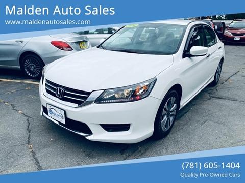 2014 Honda Accord for sale in Malden, MA
