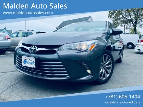2016 Toyota Camry for sale at Malden Auto Sales in Malden MA