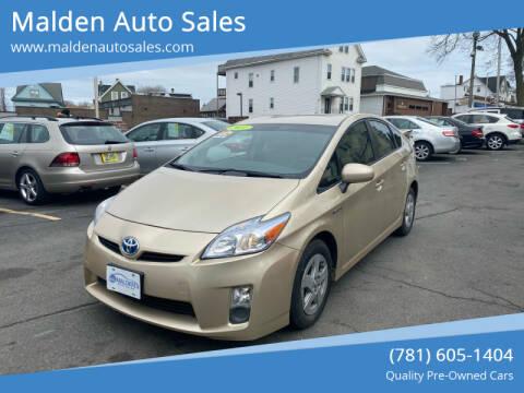 2011 Toyota Prius for sale at Malden Auto Sales in Malden MA