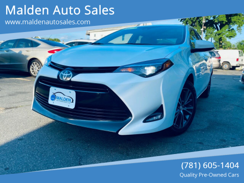 2017 Toyota Corolla for sale at Malden Auto Sales in Malden MA