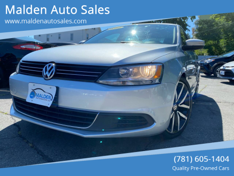 2013 Volkswagen Jetta for sale at Malden Auto Sales in Malden MA