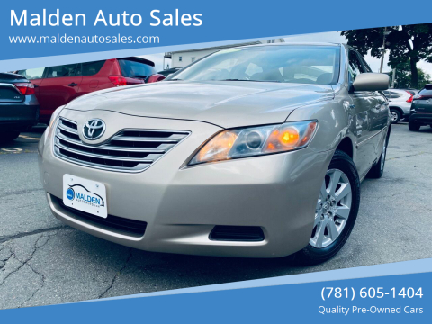 2007 Toyota Camry Hybrid for sale at Malden Auto Sales in Malden MA
