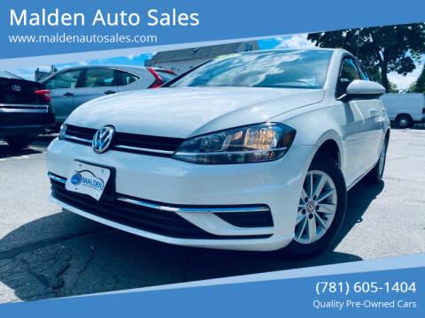 2018 Volkswagen Golf for sale at Malden Auto Sales in Malden MA