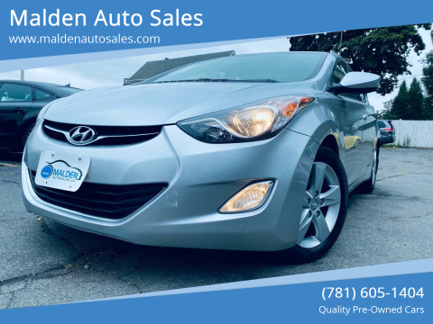 2013 Hyundai Elantra for sale at Malden Auto Sales in Malden MA