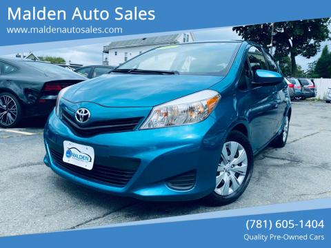 2014 Toyota Yaris for sale at Malden Auto Sales in Malden MA