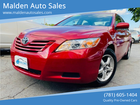 2007 Toyota Camry for sale at Malden Auto Sales in Malden MA