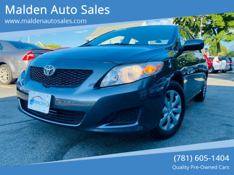 2010 Toyota Corolla for sale at Malden Auto Sales in Malden MA