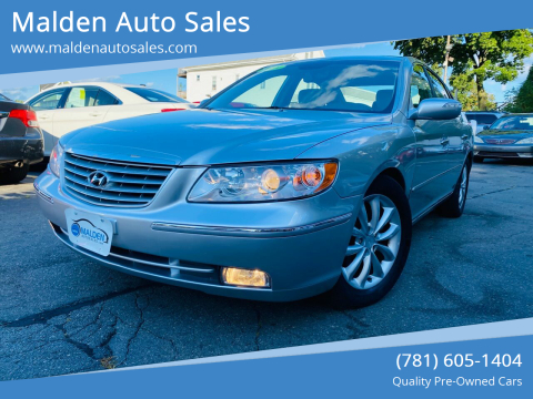 2008 Hyundai Azera for sale at Malden Auto Sales in Malden MA