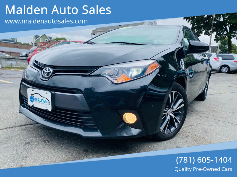 2016 Toyota Corolla for sale at Malden Auto Sales in Malden MA