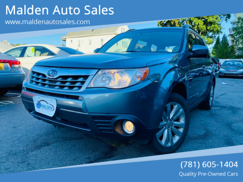 2013 Subaru Forester for sale at Malden Auto Sales in Malden MA