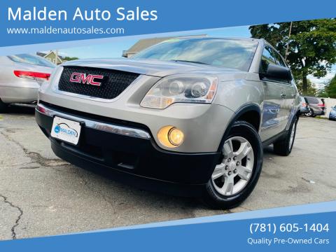 2008 GMC Acadia for sale at Malden Auto Sales in Malden MA