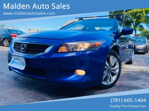 2009 Honda Accord for sale at Malden Auto Sales in Malden MA