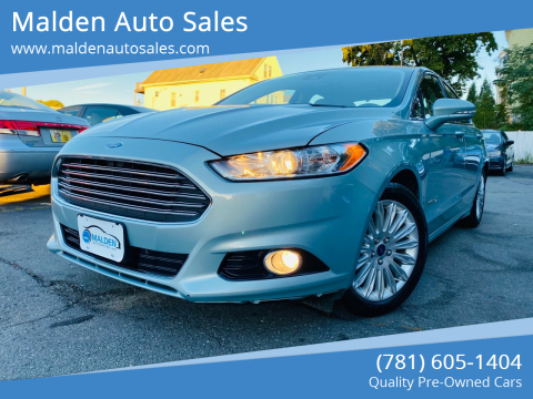 2013 Ford Fusion Hybrid for sale at Malden Auto Sales in Malden MA