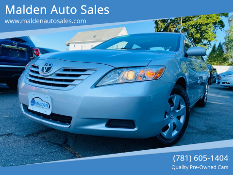 2009 Toyota Camry for sale at Malden Auto Sales in Malden MA