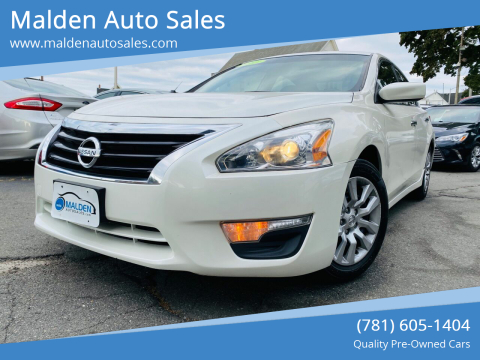 2013 Nissan Altima for sale at Malden Auto Sales in Malden MA