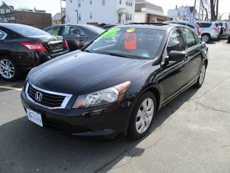 2008 Honda Accord Ex L W Navi In Malden Ma Malden Auto Sales