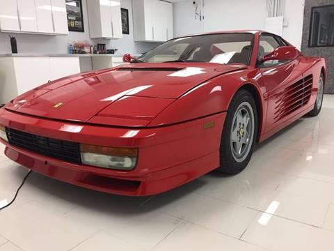 1991 ferrari testarossa for sale in san antonio tx. Cars Review. Best American Auto & Cars Review