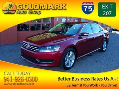 2015 Volkswagen Passat for sale in Sarasota, FL