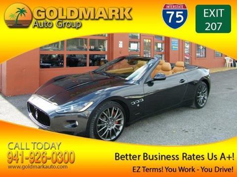 2012 Maserati GranTurismo for sale in Sarasota, FL