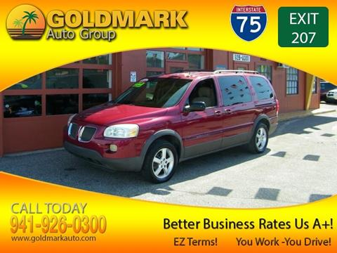 2005 Pontiac Montana SV6 for sale in Sarasota, FL