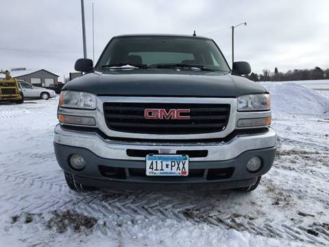 2006 GMC Sierra 1500 for sale at Toy Barn Motors in New York Mills MN