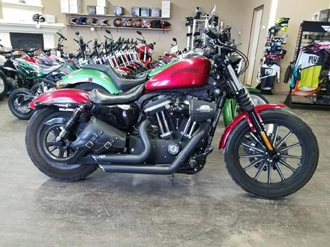 2012 Harley Davidson Sportster for sale at Toy Barn Motors in New York Mills MN